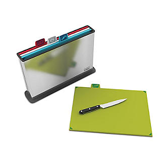 Joseph Joseph Index Chopping Board Set Large Stainless Steel alt image 2