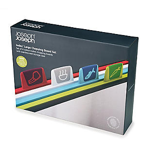 Joseph Joseph Index Chopping Board Set Large Stainless Steel alt image 4