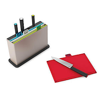 Joseph Joseph Index Chopping Board Set with Knives Regular  alt image 2