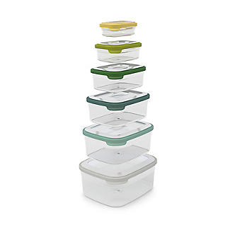 Joseph Joseph Nest Storage 6 Piece Food Container Set Opal