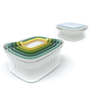 Joseph Joseph Nest Storage 6 Piece Food Container Set Opal alt image 2