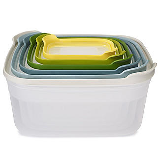 Joseph Joseph Nest Storage 6 Piece Food Container Set Opal alt image 3