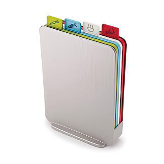 Joseph Joseph Index Chopping Board Set Compact Silver alt image 3