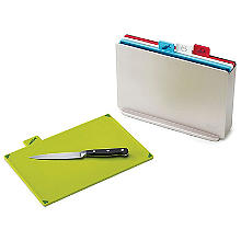 Joseph Joseph Index Chopping Board Set Regular Silver