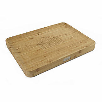 Joseph Joseph Cut and Carve Bamboo Multi-Function Chopping Board  alt image 1