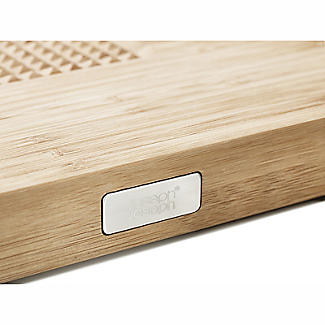 Joseph Joseph Cut and Carve Bamboo Multi-Function Chopping Board  alt image 5