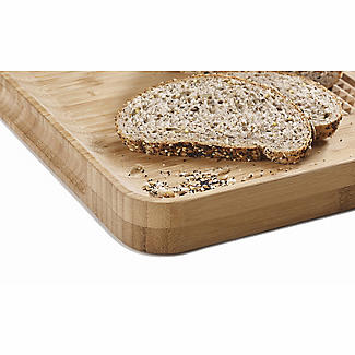 Joseph Joseph Cut and Carve Bamboo Multi-Function Chopping Board  alt image 7