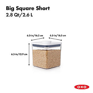 OXO Good Grips POP Square Food Storage Container 2.6L alt image 3