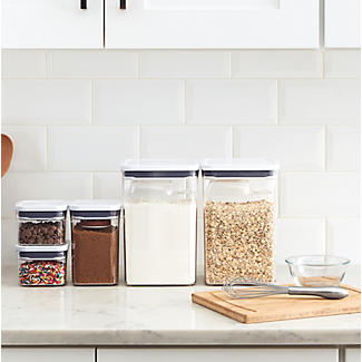 OXO Good Grips POP Square Tall Food Storage Container 1.6L alt image 2