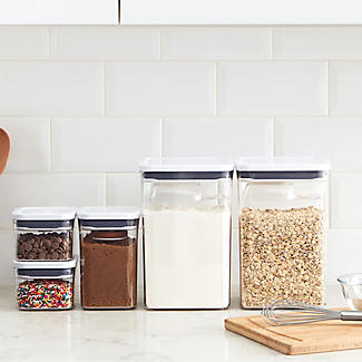 OXO Good Grips POP Square Food Storage Container 400ml alt image 2