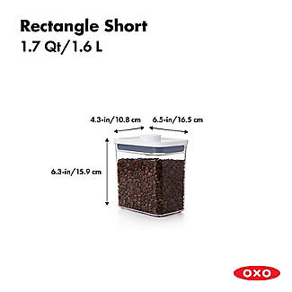 OXO Good Grips POP Rectangular Food Storage Container 1.6L alt image 3