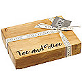 Just Slate Scottish Oak Etched Ice and Slice Chopping Board