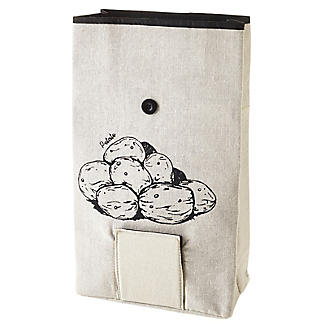 Lakeland Potato Bag with Button Tie Closure alt image 7