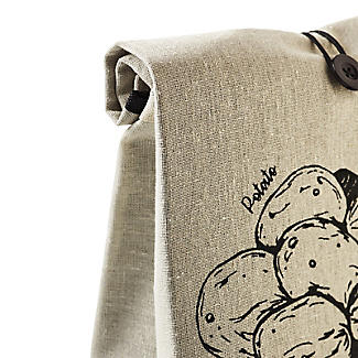 Lakeland Potato Bag with Button Tie Closure alt image 8