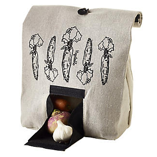 Lakeland Vegetable Bag with Button Tie Closure alt image 1