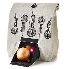 Lakeland Onion Bag with Button Tie Closure