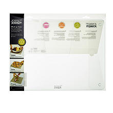 Joseph Joseph Clear Glass Worktop Saver Medium