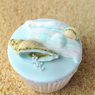 Seashells Silicone Icing Mould alt image 2