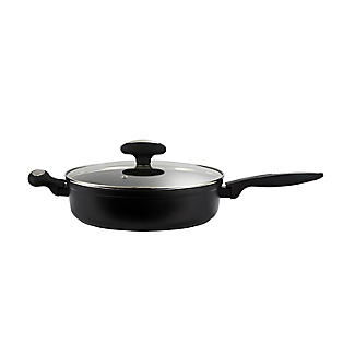Zyliss Forged Aluminium Non-Stick 28cm Saute Pan with Lid alt image 6