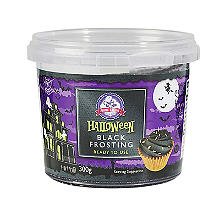 Create A Cake Halloween Black Frosting 300g