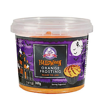 Create A Cake Halloween Orange Frosting 300g