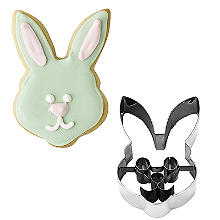 Rabbit Face Stainless Steel Cookie Cutter