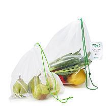 Carrinet Veggio Wiederverwendbare Obst- und Gemüsebeutel, 5er-Set