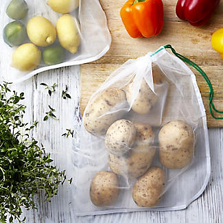 Carrinet Veggio Reusable Fruit and Veg Bags Pack of 5 alt image 2