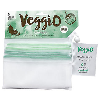 Carrinet Veggio Reusable Fruit and Veg Bags Pack of 5 alt image 4