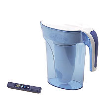 ZeroWater 5-Stage Water Filter Jug with Free TDS Meter 1.7L