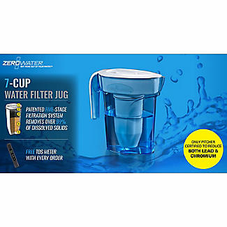ZeroWater 5-Stage Water Filter Jug with Free TDS Meter 1.7L alt image 4