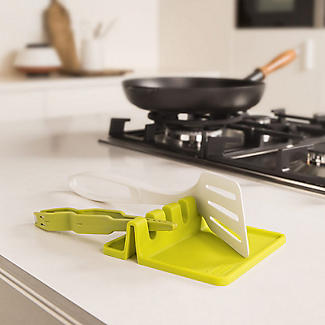 Tomorrow's Kitchen Silicone Utensil Rest Grey alt image 2