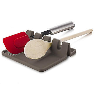 Tomorrow's Kitchen Silicone Utensil Rest Grey alt image 3
