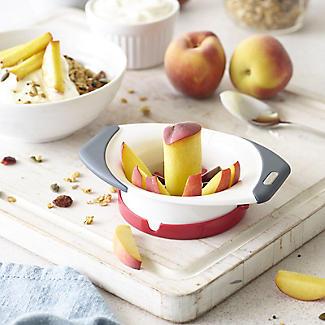 Zyliss Easy Slice Peach Slicer and Corer alt image 2
