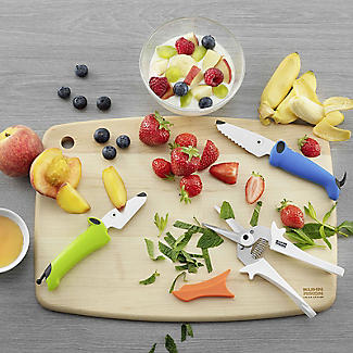 Kuhn Rikon Kinderkitchen Essentials 3-Piece Knife and Snipper Set alt image 2