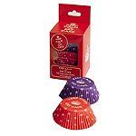 Celebrate Britain Keep Calm Cupcake Cases Pack of 100 Red-Purple