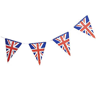 Celebrate Britain Union Jack Bunting 3.5m | Lakeland