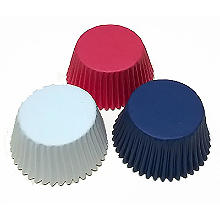 Red, White and Blue Cupcake Cases 72 Pack