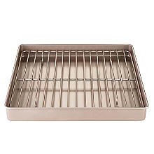 Lakeland Speciality Bakeware Square Baking Tin with Rack