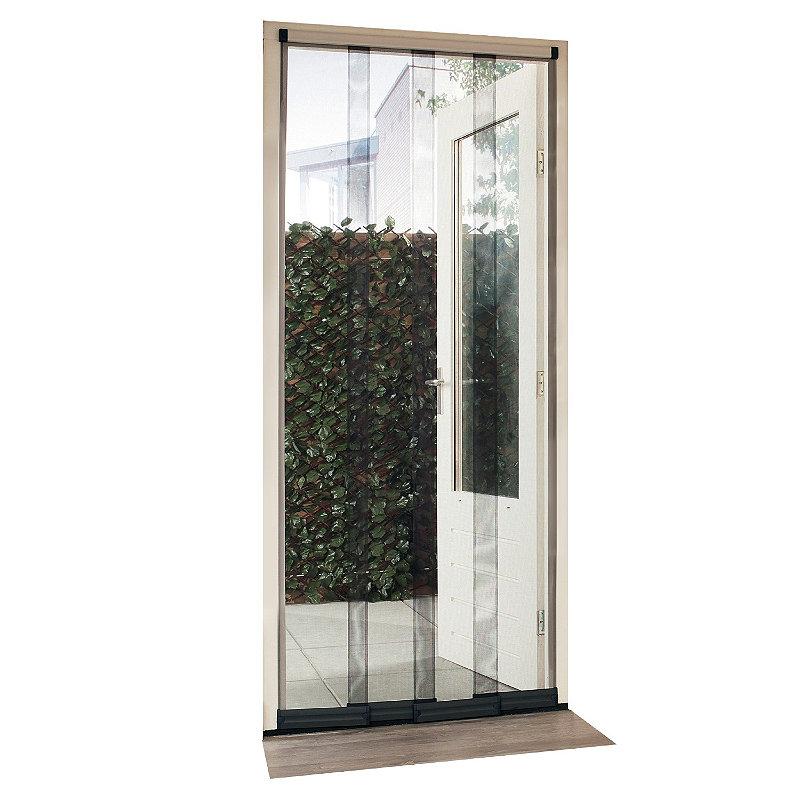 fliegenvorhang pvc beschichtete streifen aus glasfasernetz t ren bis 95x220 cm ebay. Black Bedroom Furniture Sets. Home Design Ideas