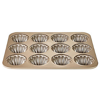 Lakeland Speciality Bakeware 12 Cup Shell Ring Tin