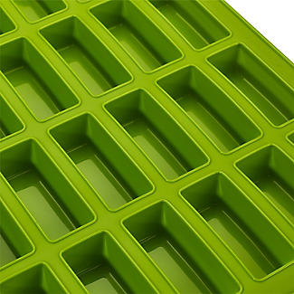 Reinforced Silicone 24-Cup Mini Loaf Rectangular Mould alt image 3