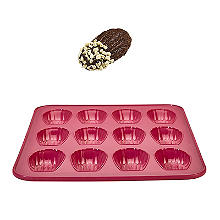 Reinforced Silicone 12-Cup Madeleine Pan