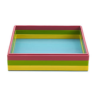 Reinforced Silicone 3-Layer Square Dessert Mould