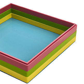 Reinforced Silicone 3-Layer Square Dessert Mould alt image 5