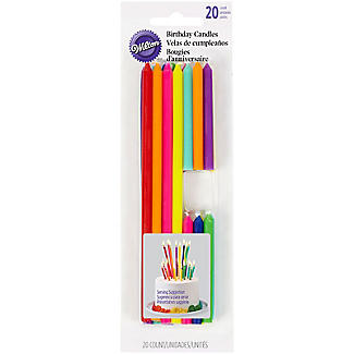 Wilton Tall and Short Birthday Candles - Pack of 20 alt image 3