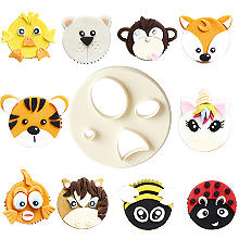 FMM Mix n Match Animal Face Icing Cutter