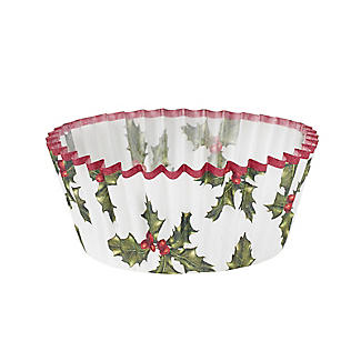 Talking Tables Botanical Holly Christmas Cupcake Cases 30 Pack alt image 3