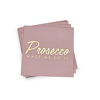 Talking Tables Prosecco Made Me Do It Cocktail Napkins – Pack of 16