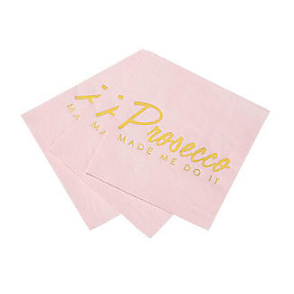 Talking Tables Prosecco Made Me Do It Cocktail Napkins – Pack of 16 alt image 3